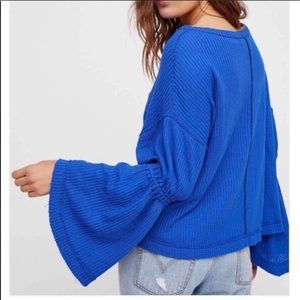 Free People NWT Dahlia Thermal Top